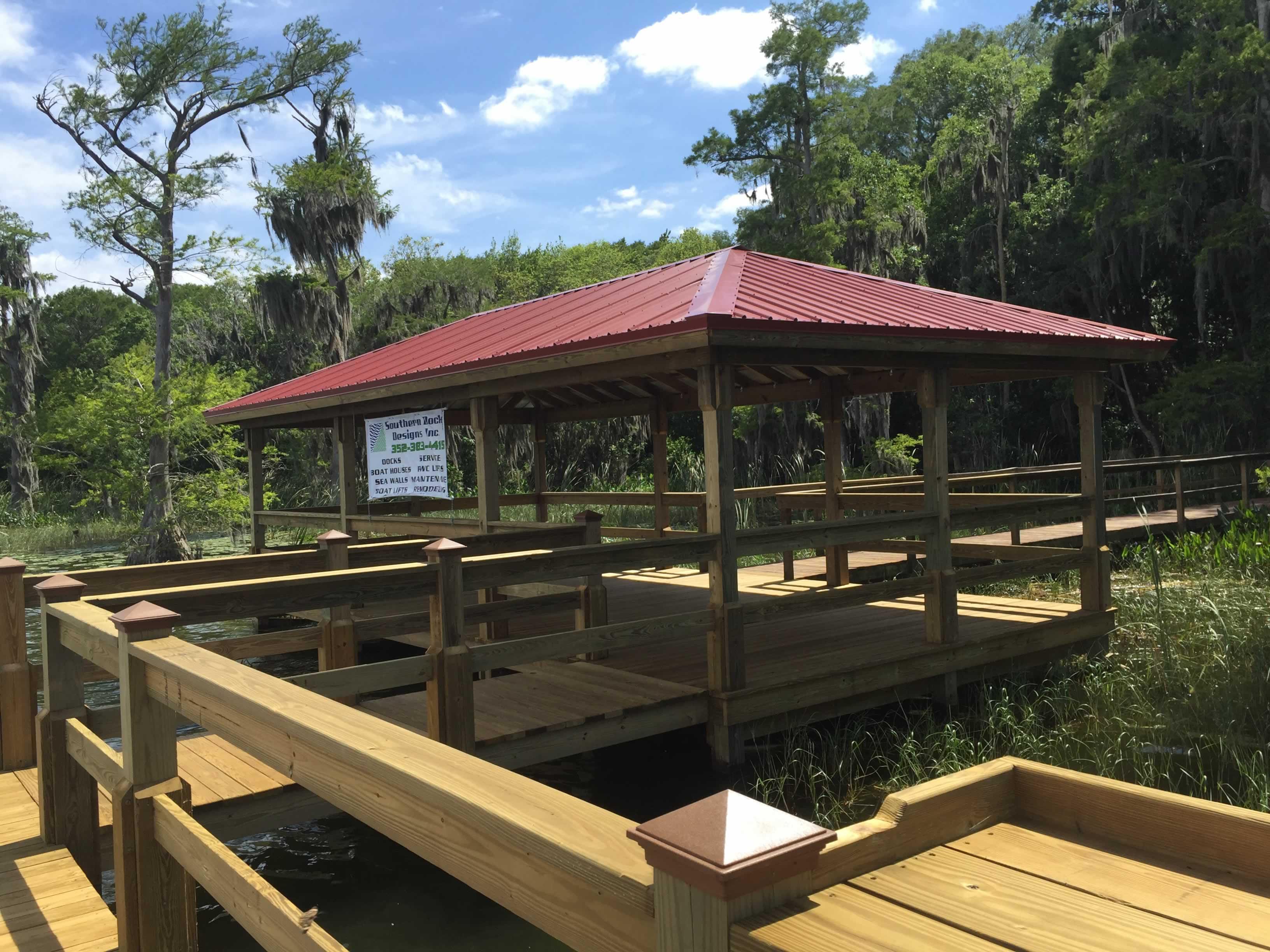 Resort Style Amenities Hidden Harbor On Lake Harris